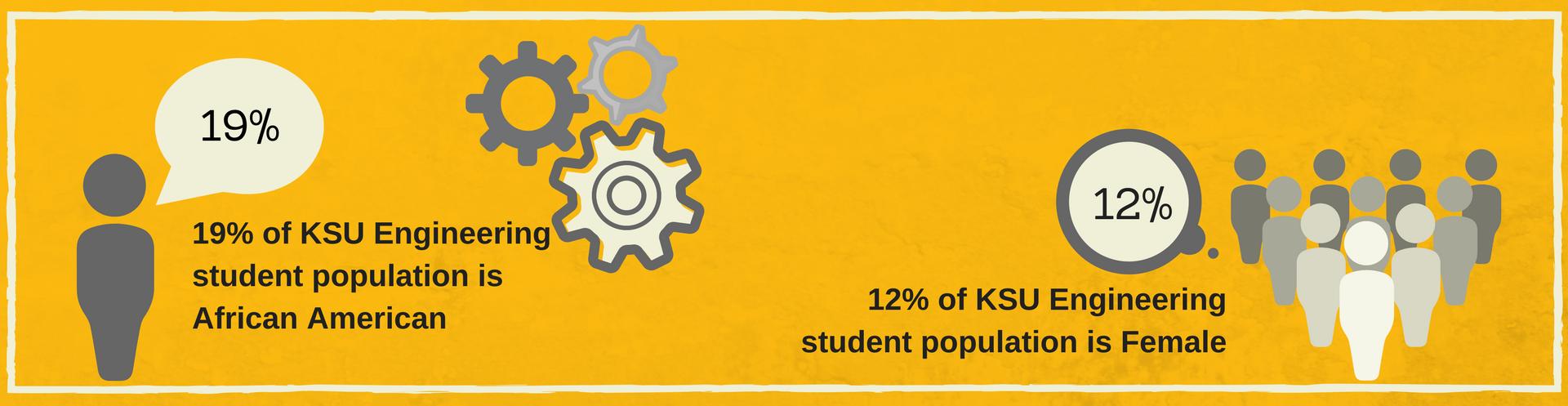 KSU Engineering students by the numbers