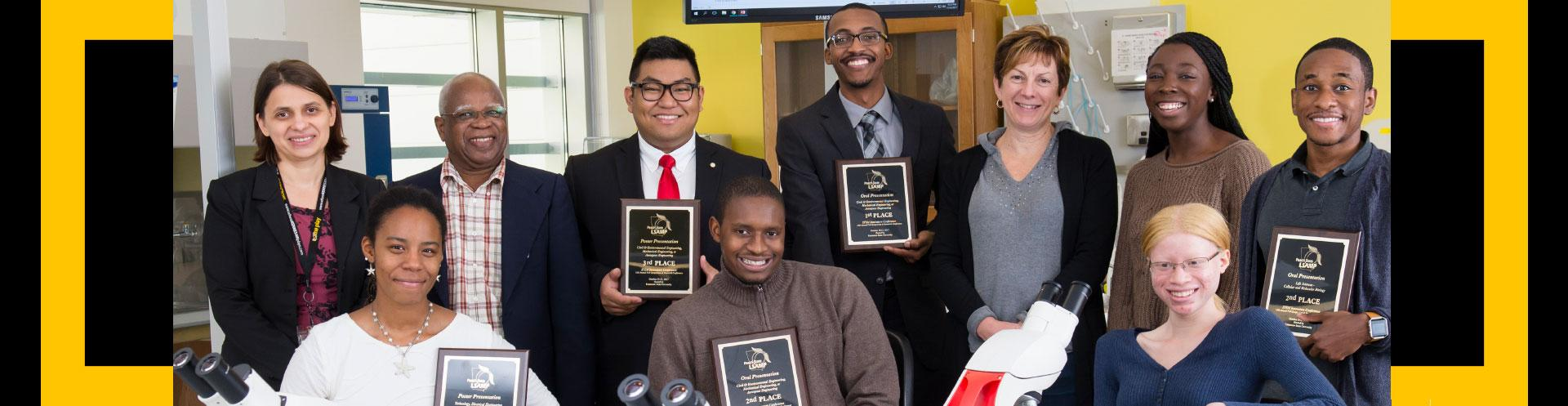 STEM Innovators Conference honors eight Kennesaw State students