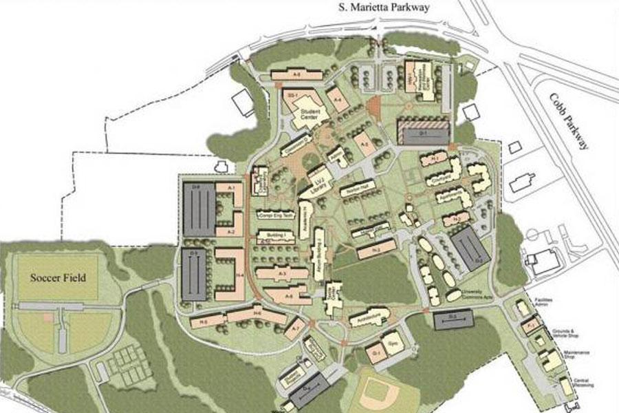 Spsu Campus Map KSU | Southern Polytechnic College of Engineering and Engineering