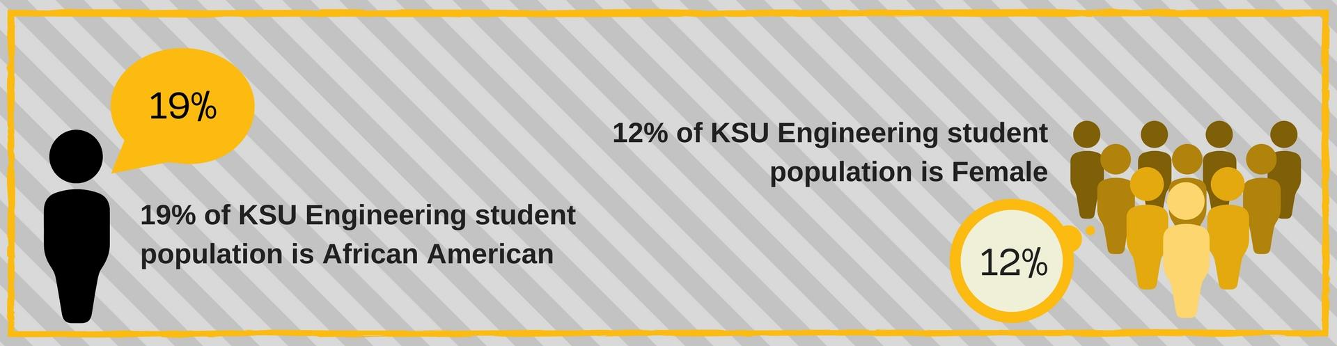 KSU Engineering students by the numbers