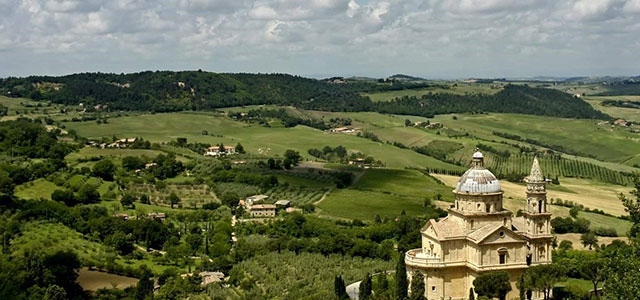 Montepulciano, Italy - Church