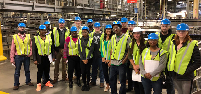 Students tour Anheuser Busch