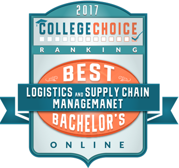 Best online bachelors in logistics and supply chain management 2017